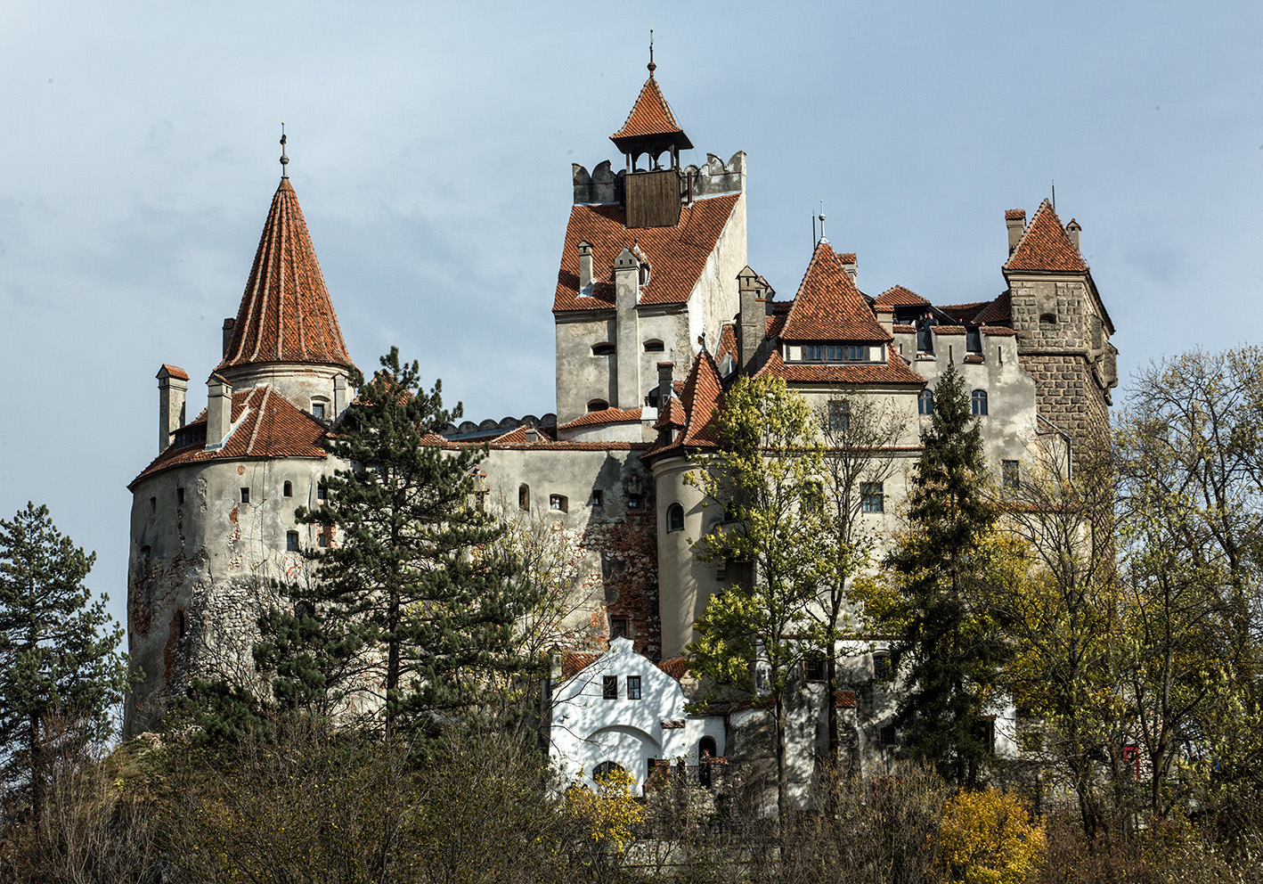 A view of Vlad's fortress